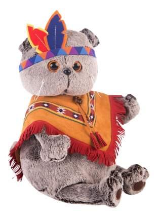 Мягкая игрушка BUDI BASA Кот Басик в костюме индейца 19 см Budi basa