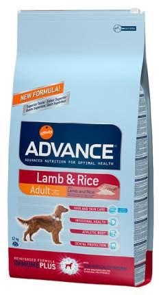 Сухой корм для собак Advance Adult Lamb&rice LAMB&RICE, ягненок, рис, 12кг