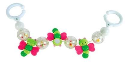 Подвесная игрушка с зеркальцем Милые бабочки 0+ Жирафики