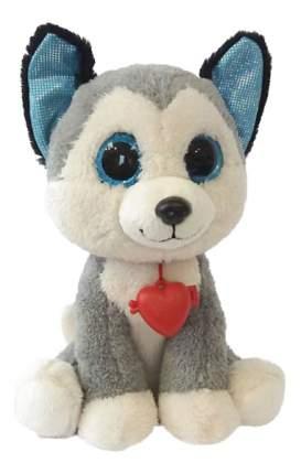 Мягкая игрушка Fancy Глазастик хаски с сердцем 22 см GHK0\S