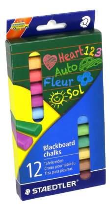 Мелки цветные для доски 12 шт Staedtler