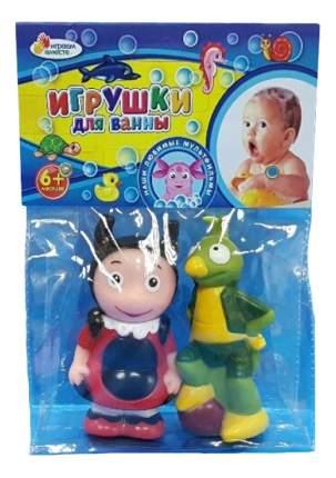 Резиновые игрушки для ванны Лунтик, Мила и Кузя Играем вместе 171R-PVC-LU