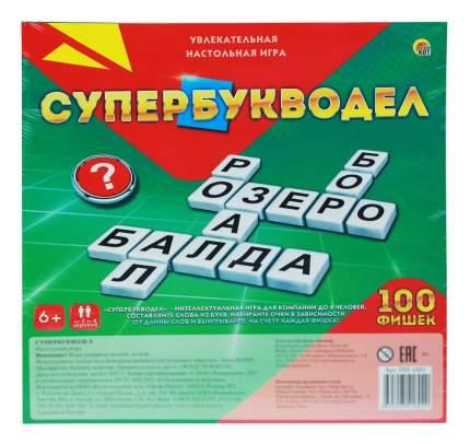 Игры в слова Супер-букводел 100 фишек Рыжий кот ин-1802