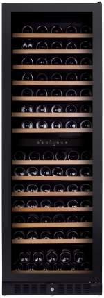 Встраиваемый винный шкаф Dunavox DX-166.428DBK Black