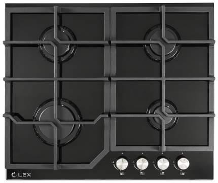 Встраиваемая варочная панель газовая LEX GVG 642 BL Black