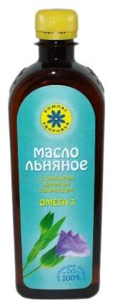 Масло льняное Компас Здоровья с селеном хромом кремнием 500 мл