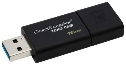 USB-флешка Kingston DataTraveler 100 G3 DT100G3 цвет Черный 16 Гб
