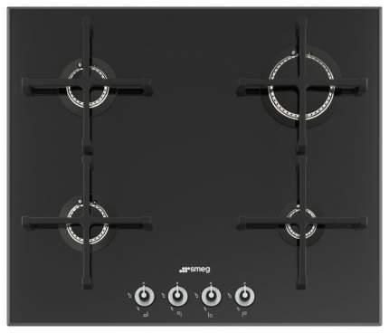 Встраиваемая варочная панель газовая Smeg PV164N Black