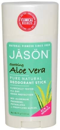 Дезодорант Jason Soothing Aloe Vera Deodorant Stick 71 г