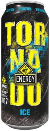 Напиток энергетический Tornado Energy ice газированный жестяная банка 0.45 л