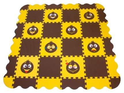 Мягкий коврик-пазл Eco cover Смайлики 33МП2,7/С