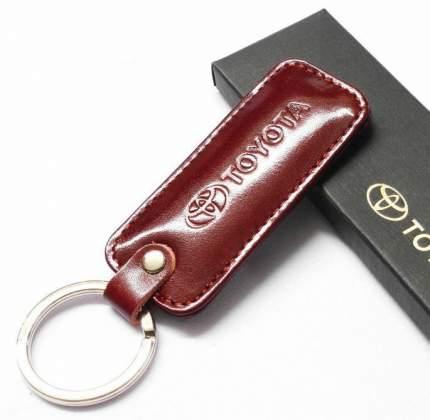 Брелок прямоугольный Toyota Key Pendant OT1100320T Red