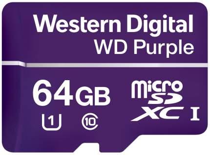 Карта памяти Western Digital Micro SDXC WDD064G1P0A 64GB