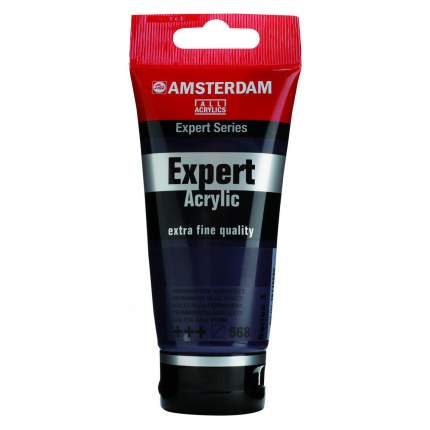 Акриловая краска Royal Talens Amsterdam Expert №568 сине-фиолетовый устойчивый 75 мл