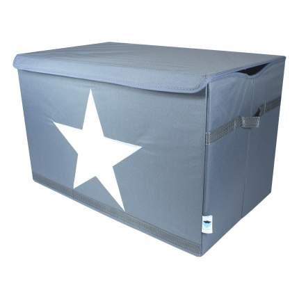 Большой бокс для хранения с крышкой Звезда, 670360