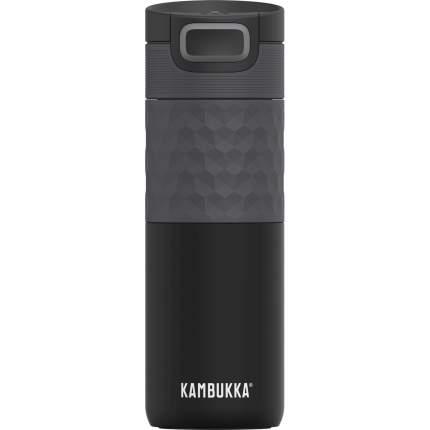 Термокружка Kambukka Etna Grip Black Steel, 500 мл
