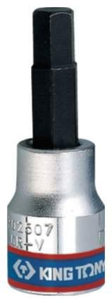 Торцевая головка с вставкой битой KING TONY 302509