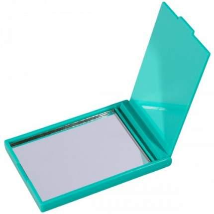 Зеркальце карманное зеленое