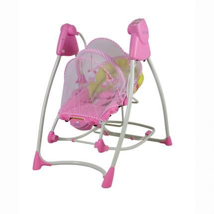 Электрокачели Pituso Lerin 2 в 1 качели + шезлонг розовый