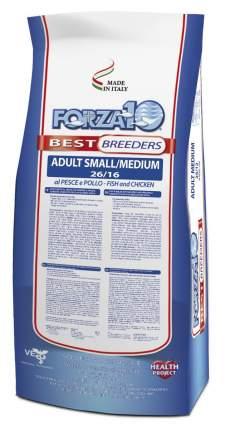 Сухой корм для собак Forza10, для мелких и средних пород, курица и рыба, 20 кг