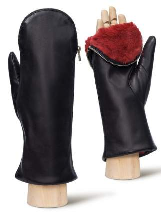 Варежки женские Eleganzza IS129 черные 7.5