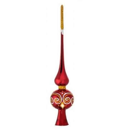 Верхушка для ели Елочка С 1130-красный (h-255)
