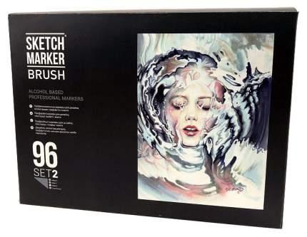 Набор маркеров Sketchmarker «Sketchmarker Brush» 96 штук