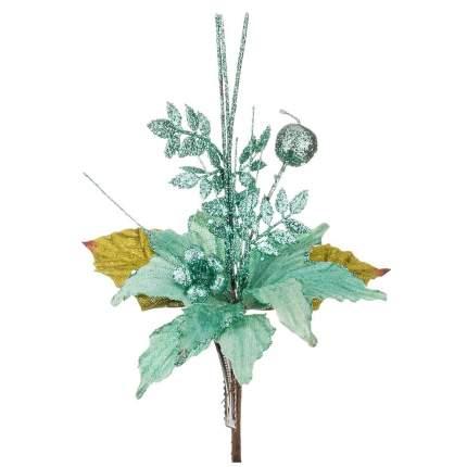 Искусственный цветок Huajing Plastic Flower Factory Пуансетия (15 см)