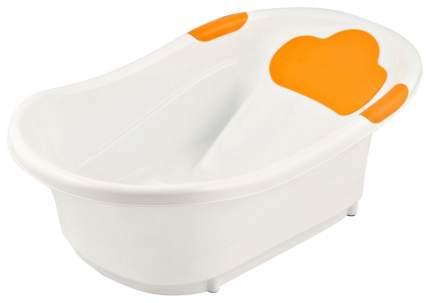 ROXY-KIDS Ванночка с анатомической горкой со сливом, 72 см, Оранжевый RBT-W1035-O