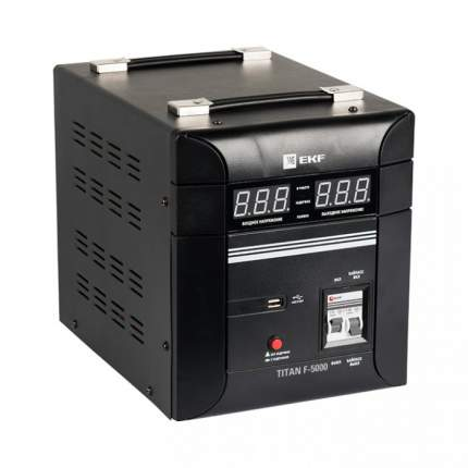 Однофазный стабилизатор EKF TITAN F-5000 EKF PROxima