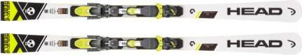Горные лыжи Head WorldCup Rebels i.SL RP + Freeflex Evo 11 2019, grey/yellow/white, 150 см