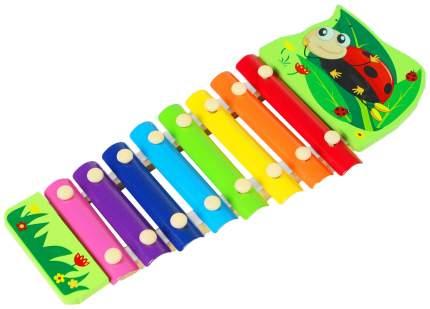 """Музыкальная игрушка """"Металлофон. Божья коровка"""", 8 тонов Sima-Land"""