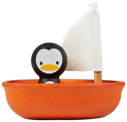 """Игровой набор """"Лодка и пингвин"""" Plan Toys"""