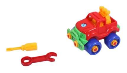 Детский конструктор собери игрушку сам - Машинка Play Smart
