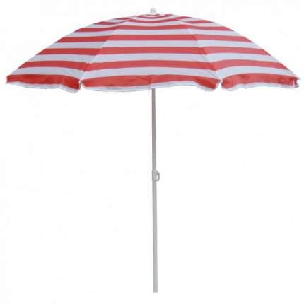 Зонт пляжный 001-025 красный/белый р 180см