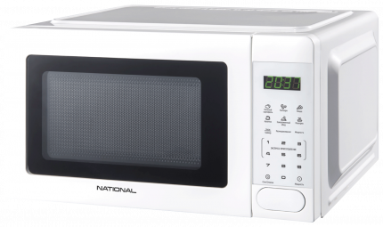 Микроволновая печь соло NATIONAL NK-MW165S20 White