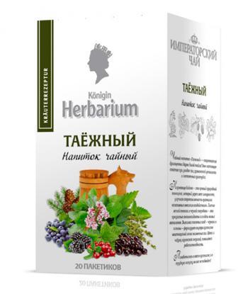Напиток чайный Konigin Herbarium таежный пакетированный