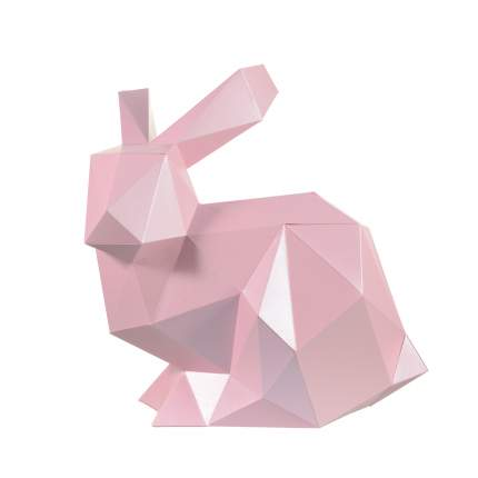 3D-конструктор Paperraz КРОЛИК НЯШ (розовый)
