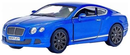 Машина инерционная Kinsmart Bentley Continental GT Speed, масштаб 1:38, открываются двери
