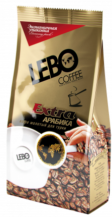 Кофе молотый Lebo extra для турки 200 г