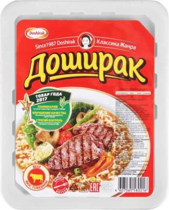 Лапша быстрого приготовления Doshirak со вкусом говядины 90 г