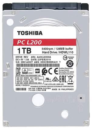Внутренний жесткий диск Toshiba L200 1TB (HDWL110UZSVA)