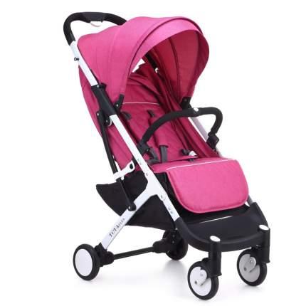 Прогулочная коляска yoya plus розовая белая рама