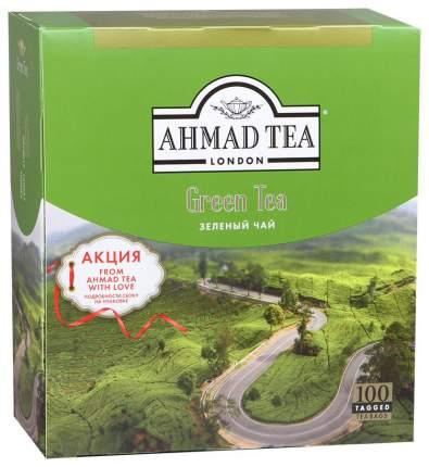 Чай зеленый Ahmad Tea 100 пакетиков