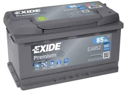Аккумулятор автомобильный EXIDE EA852 85 Ач