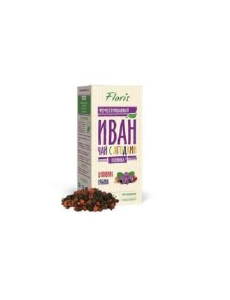 Иван-чай Floris с ягодами шиповник-рябина 75 г