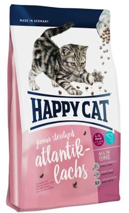 Сухой корм для котят Happy Cat Junior Sterilised, атлантический лосось, 4кг