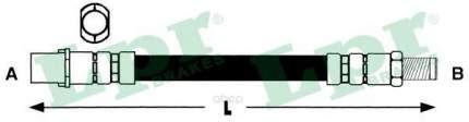 Шланг тормозной системы Lpr 6T47948 задний