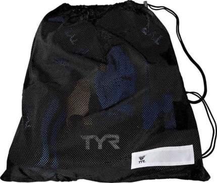 Сумка-сетка для бассейна TYR Mesh Gear Bag LBD черная