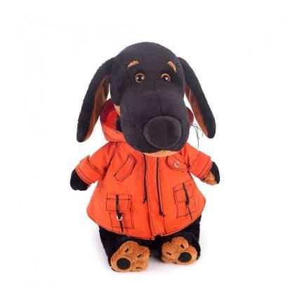 Мягкая игрушка BUDI BASA Собака Ваксон в оранжевой ветровке 29 см